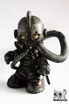 """SalaX"" | Custom Kidrobot Mascot | Artist: Don P"