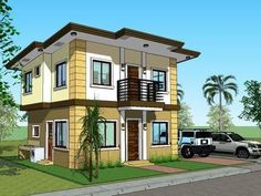 Beautiful Picture 2 Storey House, Construction Contract, New Home Construction,  Simple House, Floor