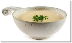 Recipe : Knoblauch suppe (Garlic Soup) - German