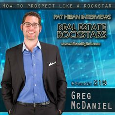 Greg McDaniel grew up in a Real Estate Family and understands the housing market, real estate and business in general. As an Alamo native and working as a partner with The McDaniel Callahan TEAM for 15 years, he is able to provide a great understanding of what the different neighborhoods have to offer... #realestate #podcast #pathiban #hibandigital #hibangroup #HIBAN #realestatesales #realestateagent #realestateagents #selling #sales #sell #salespeople #salesperson #gregmcdaniel