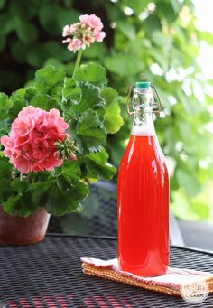 Strawberry Rhubarb Syrup - great in cocktails and amazing on ice cream.