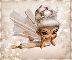 Tag d'été animé 1 - Créations Armony Creations, Fairy, Princess Zelda, Cartoon, Fictional Characters, Image, Engineer Cartoon, Comic, Cartoons