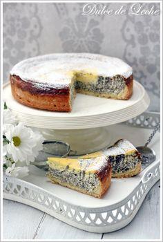Dulce de Leche: Makovo tvarohová torta Czech Recipes, Russian Recipes, Mexican Food Recipes, Dessert Recipes, Desserts, Sweet Cakes, Pavlova, Healthy Treats, Yummy Cakes