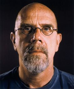 Chuck Close, Self-Portrait (1999) #realism #hyperrealism