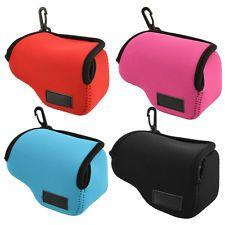 Hot New Neoprene Soft Camera Case Bag Cover For Sony NEX-5T NEX-5R NEX-3N