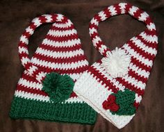 a crafty cook crocheted winter hats