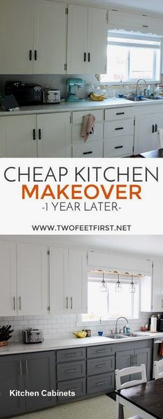 Kitchen Cabinets Makeover Ideas #kitchen