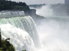Niagara Falls (American Side) nel Niagara Falls, NY