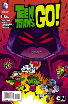 Image from http://blogs.slj.com/goodcomicsforkids/files/2014/08/TeenTitansGo5PrintCoverds.jpg.