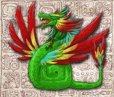serpientes mayas