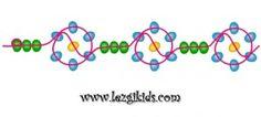 схема цепочки «Цветы из 6 лепестков»