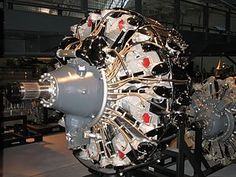 Wright R-3350 Duplex-Cyclone radial engines, powered the Lockheed Constellation