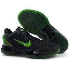 d5eac758f017 Nike Zoom Kobe 7 Rice Black Green Sport Jordan Retro
