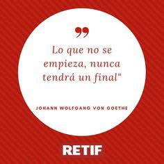 Pon en marcha ese proyecto que siempre quisiste llevar a cabo #Motivacion #RetifEspaña