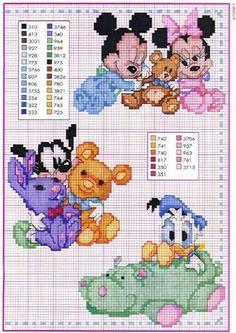 Schema punto croce Disney6