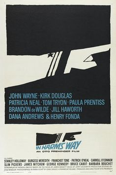 Classic Saul Bass movie poster