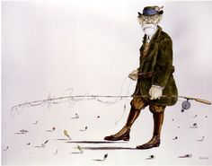 Tullio Pericoli - Sigmund Freud