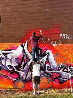 SOFLES | Above the clouds above the crowds. by Ironlak, via Flickr