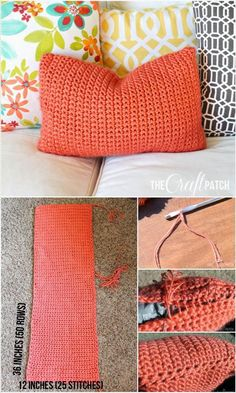 Easy Crochet Throw Pillow - 31 Free Crochet Patterns That You will in Love with | 101 Crochet
