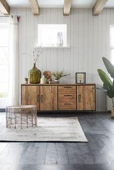 Reclaimed Wood Furniture, Steel Furniture, Custom Furniture, Wood Interior Design, Luxury Interior, Living Room Interior, Home Living Room, Home Office Decor, Home Decor