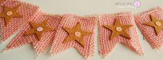 My pink Xmas III: banderola para el árbol
