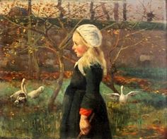 title unknown -- Ferdinand Loyen du Puigaudeau (1864 – 1930, French)