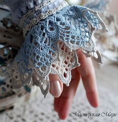 Sweater cuff! Gorgeous!