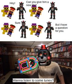 Freddy 's, Fnaf Characters, Freddy Fazbear, Fnaf Drawings, Threes Game, Undertale Comic, Chucky, Five Nights At Freddy's, Funny Relatable Memes