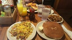 Kerbey Lane Cafe, best pancakes and overall best breakfast in Austin.
