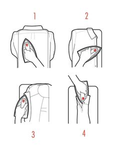 "onlymenstyle: ""gentlemenstie: ""How to iron your oxford shirt "" Follow us for more men's style!"""