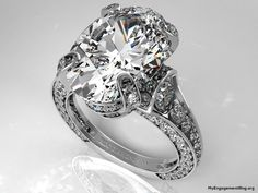 large oval diamond engagement ring - My Engagement Ring