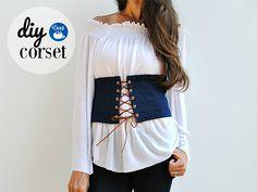 DIY Fashion: Make a Corset with Dritz Eyelets