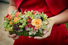 Exquisite floral purse. Something different for bridesmaids.  Wedding Flowers | Françoise Weeks European Floral Design