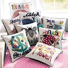 Power Pillow Cover #potterybarnteen