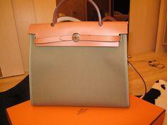 My own Hermes Herbag | Bags | Pinterest | Hermes