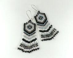 Ethnic earrings Verdigris earrings Folk earrings Trible by Galiga
