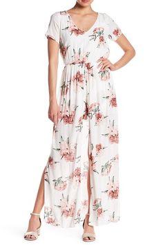 60a2b9318259 Image of EVERLY Floral Walkthrough Dress Nordstrom Rack