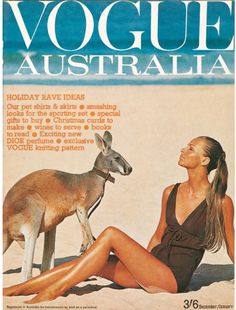 Happy Australia Day Vogue Australia December/January Cover by Helmut Newton. Vogue Australia, Happy Australia Day, Australia Holidays, David Sims, Vogue Magazine Covers, Vogue Covers, Helmut Newton, Vogue Uk, 60 Fashion