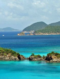 Travel Inspiration | Virgin Islands National Islands, St. John.