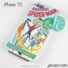 Comic Cover The Amazing Spiderman Phone case for iPhone 4/4s/5/5c/5s/6/6 plus