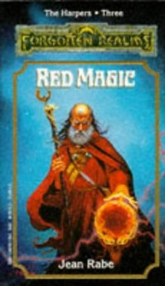 Red Magic (The Harpers, book 3) by Jean Rabe