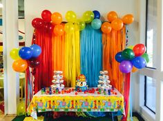 My sons first birthday circus themed by fisher price