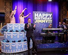 "Seth Rogen, James Franco, & Jimmy Fallon listen to Stevie Wonder play 'Happy Birthday' (""The Tonight Show Starring Jimmy Fallon"")"