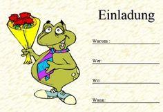kindergeburtstag einladungen zum Ausdrucken - Google Search
