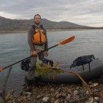 46. Klar til at padle ned af Noatak River, i en Packraft 49, Alaska på tværs