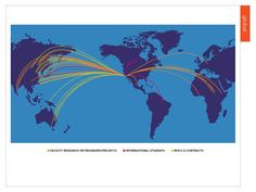A map of our students and professors' global impact.
