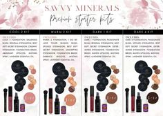 Who's excited for the Savvy Minerals Starter Kit?! ♀️  Starting February 1 U.S. members can purchase a Savvy Minerals by Young Living Premium Starter Kit!  Filled with our perfectly pure mineral makeup, it's the optimal kit for creating fresh, versatile looks. New enrollees can choose from four options, with shades selected to complement an expansive range of skin tones. If you haven't scanned your makeup with the Think Dirty app- do it! You are WORTH making this switch!