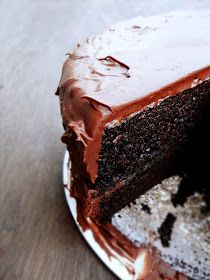 Confections + Coffee: Chocolate Buttermilk Cake