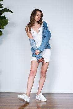 Edie Dress - White