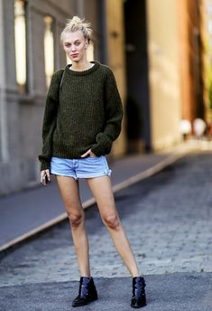 For those barely-cold days // #Casual #StreetStyle